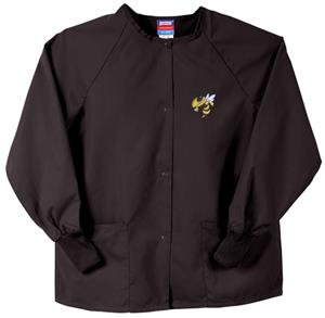 Georgia Tech Yellow Jackets Black Nursing Jackets