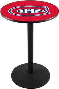 Montreal Canadiens NHL Round Base Pub Table