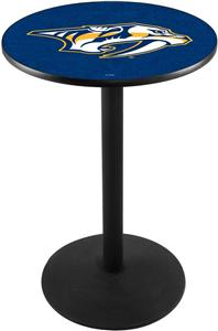 Nashville Predators NHL Round Base Pub Table