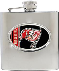 NFL Tampa Bay Buccaneers 6oz Stainless Steel Flask