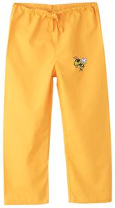 Georgia Tech Yellow Jackets Kid's Gold Scrub Pants