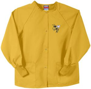 Georgia Tech Yellow Jackets Gold Nursing Jackets