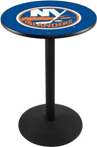New York Islanders NHL Round Base Pub Table
