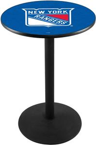 New York Rangers NHL Round Base Pub Table