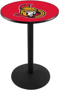 Holland Ottawa Senators NHL Round Base Pub Table