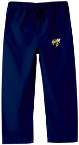 Georgia Tech Yellow Jackets Kid's Navy Scrub Pants