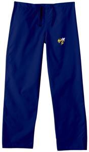 Georgia Tech Yellow Jackets Navy Scrub Pants