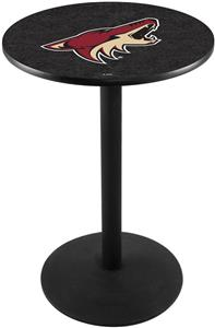 Phoenix Coyotes NHL Round Base Pub Table