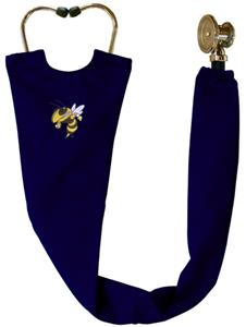 Georgia Tech Yellow Jackets Navy Stethoscope Cover