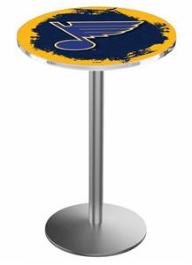 St Louis Blues NHL Round Base Pub Table