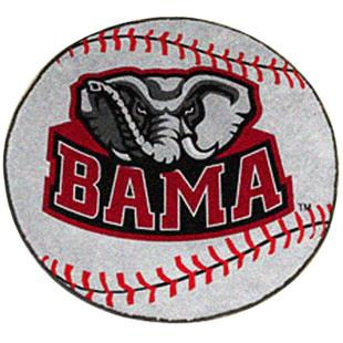 Fan Mats University of Alabama Baseball Mat
