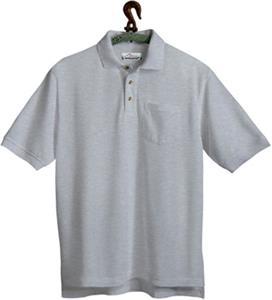 TRI MOUNTAIN Engineer Pique Golf Shirt w/Pocket