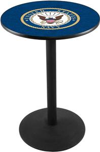 Holland United States Navy Round Base Pub Table