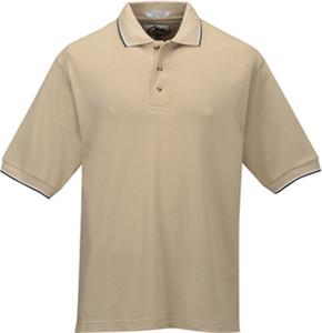 TRI MOUNTAIN Pursuit Mesh Knit Golf Shirt