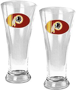 NFL Washington Redskins 2 Piece Pilsner Glass Set