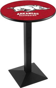 University of Arkansas Square Base Pub Table