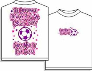 Utopia Soccer Girls Make it Look Good T-shirt