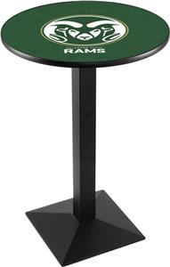 Colorado State University Square Base Pub Table