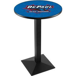 Holland DePaul University Square Base Pub Table