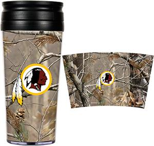NFL Redskins 16oz Realtree Travel Tumbler