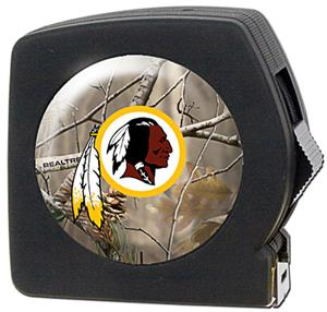 NFL Washington Redskins 25' RealTree Tape Measure
