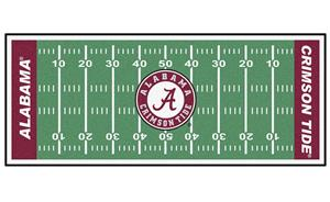 Fan Mats University of Alabama Football Runner