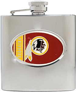 NFL Washington Redskins 6oz Stainless Steel Flask