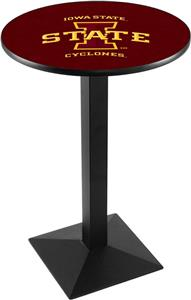 Iowa State University Square Base Pub Table