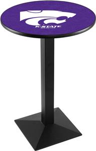 Kansas State University Square Base Pub Table