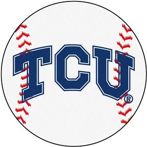 Fan Mats Texas Christian University Baseball Mat