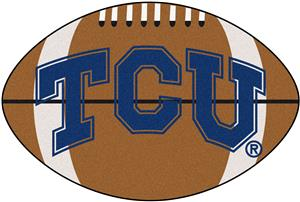 Fan Mats Texas Christian University Football Mat