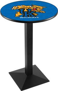 Holland Univ of Kentucky Cat Square Base Pub Table