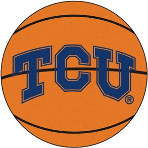 Fan Mats Texas Christian University Basketball Mat