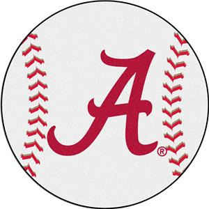 Fan Mats Alabama Baseball Mat