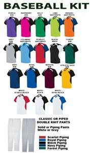 High Five Tempest Baseball Jersey Uniform Kits