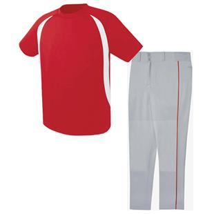 High Five Liberty Baseball Jersey Uniform Kits