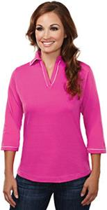TRI MOUNTAIN Women's Allure Jersey-Sleeve Shirt
