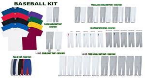 Essortex SS T-Shirt Baseball Jersey Uniform Kits