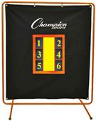 Champion Sports Pro Pitchers Screen with Stand