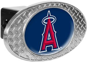 MLB Anaheim Angels Diamond Plate Hitch Cover