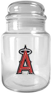 MLB Anaheim Angels Glass Candy Jar