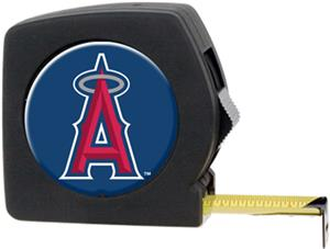 MLB Angels 25' Tape Measure with Crystal Coat Logo