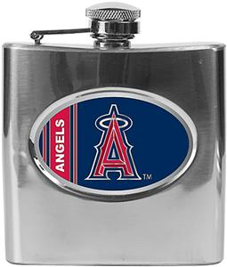MLB Anaheim Angels 6oz Stainless Steel Flask
