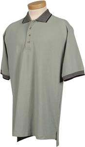 TRI MOUNTAIN Sterling Cotton Pique Knit Polo