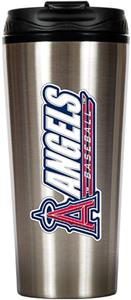 MLB Angels 16oz Stainless Steel Travel Tumbler