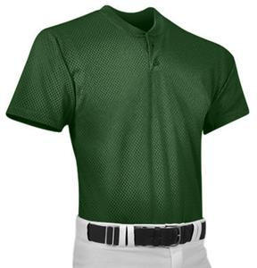 Pro 2 Adult Pro Mesh Two Button Baseball Jersey