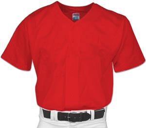 Champro Pro Mesh Full Button Baseball Jersey
