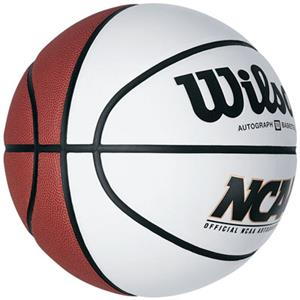 Wilson NCAA Official Autograph Basketball (SET 24)
