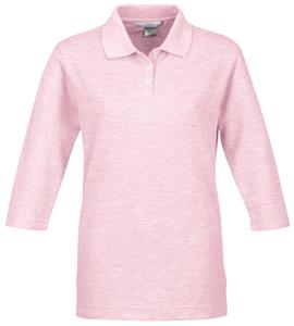 TRI MOUNTAIN Women&#39;s Aurora 3/4-Sleeve Golf Shirt