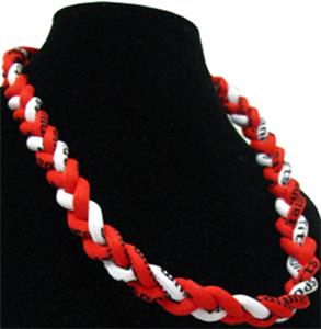 Titanium Red/White Sport Necklaces